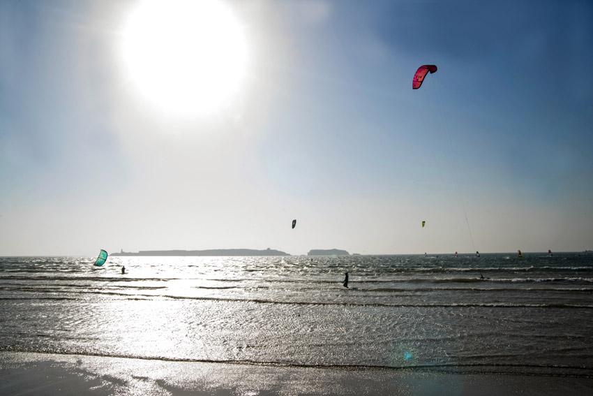 Marocco in Africa / Essaouira: a great spot for kitesurfing