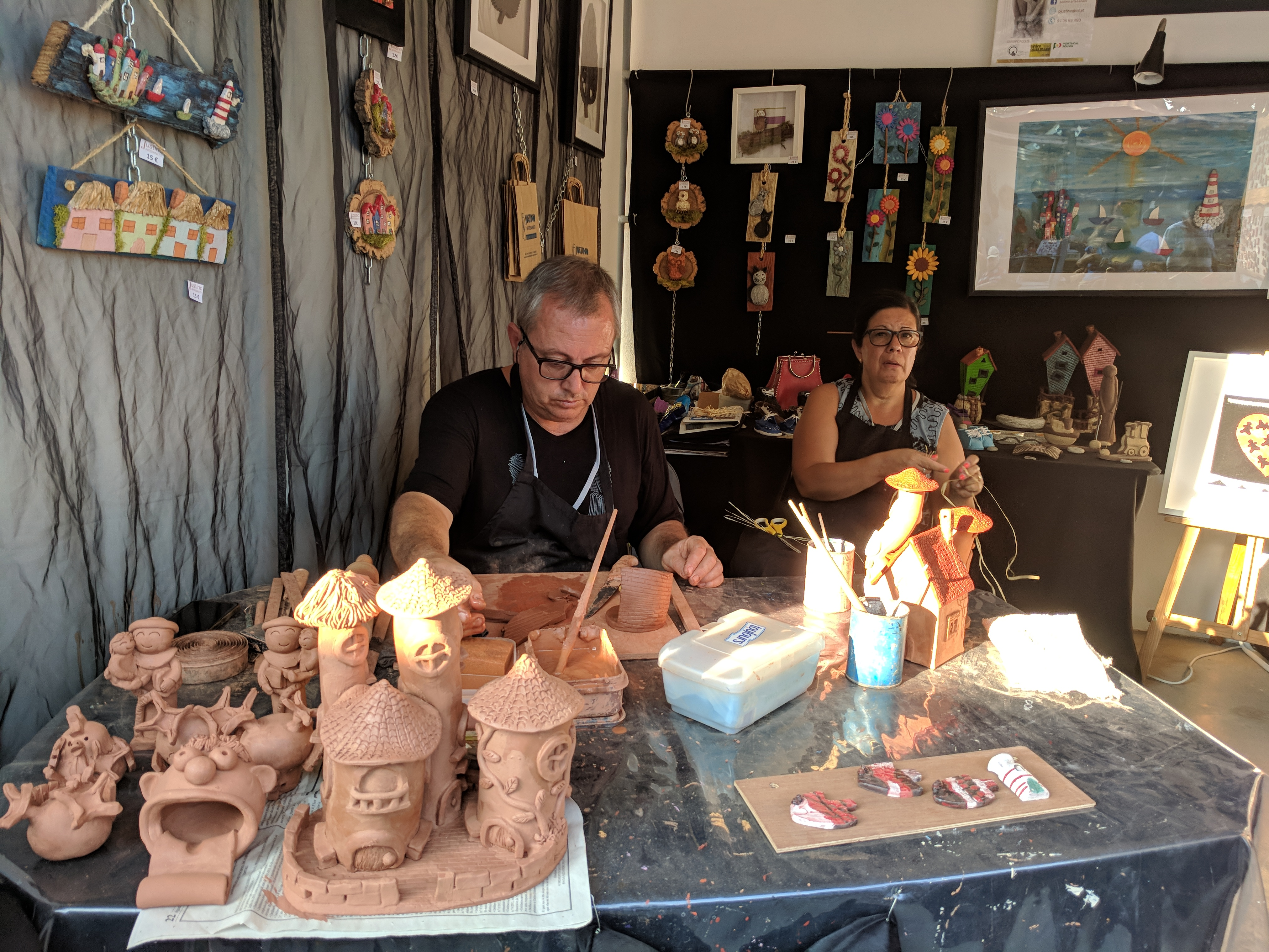 Portugal - Algarve / Fatacil (fair) in Lagoa: handicraft