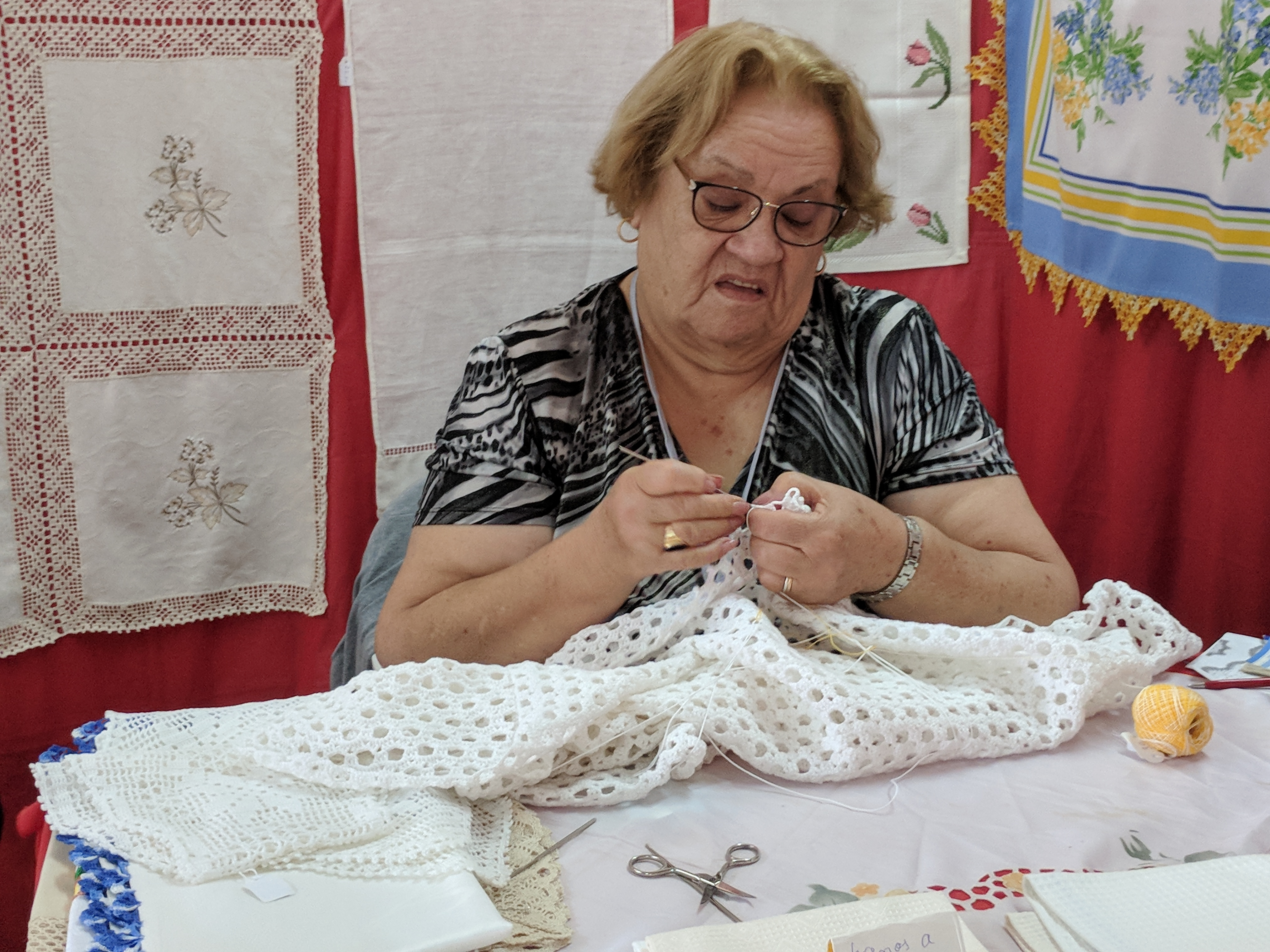 Portugal - Algarve / Fatacil (fair) in Lagoa: handwork