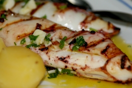 Fantastic: Roasted Squid with potatoes