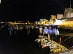 The harbour of Portimao
