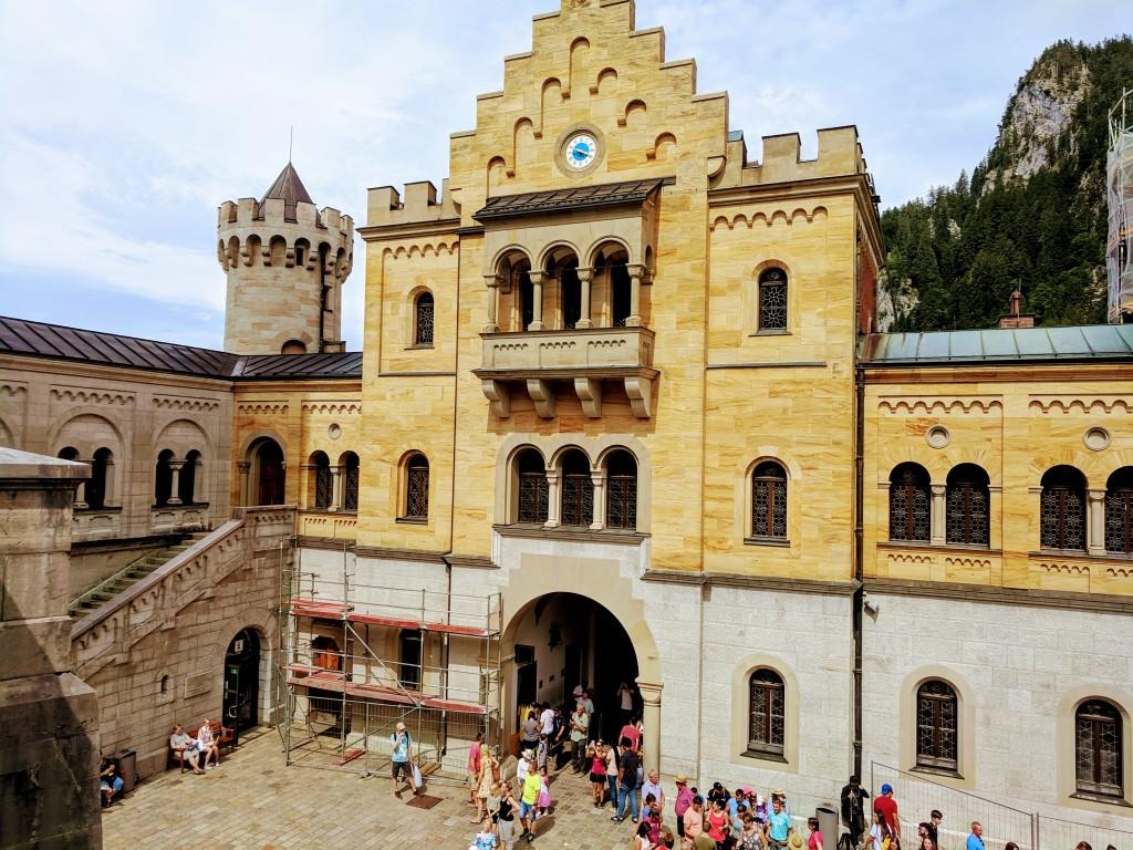 Schloss Neuschwanstein und seine Besucher