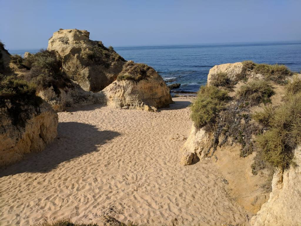 Bucht an der Algarve / Portugal